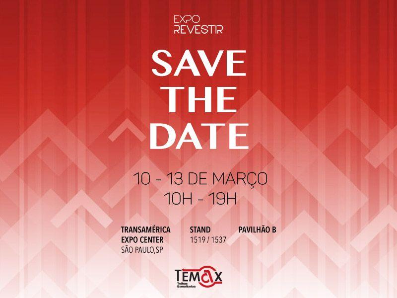 Telhas Temax presente na Expo Revestir